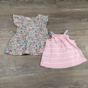 ❗️2 baby girl 3 month Blouses bundle
